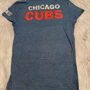 Chicago Cubs Victoria Secret pink tee large